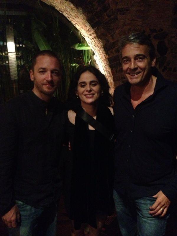 João Vasco, Mariana de Moraes e Alexandre Borges