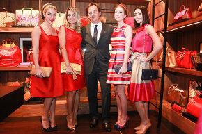 CH Herrera abre sua nova loja no Village Mall com presença de várias atrizes globais