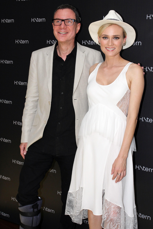 Diane Kruger brilha em lançamento de coleção da H. Stern no Londra