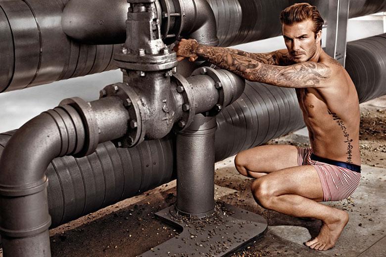 David Beckham, a grande estrela do Super Bowl