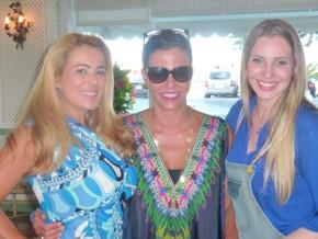 Três divas no Brunch Esquenta na Pérgula do Copacabana Palace Ariadne Coelho, Narcisa Tamborindeguy e Maísa Vasconcellos