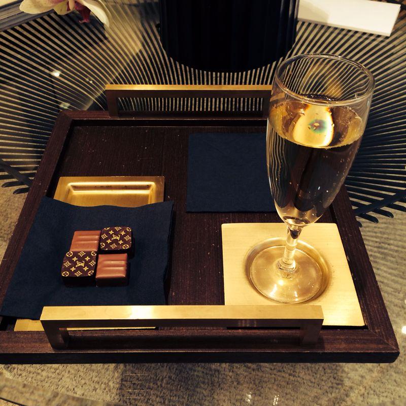 Mimos na Louis Vuitton e tudo resolvido. Claro, que eu fiquei com tudo