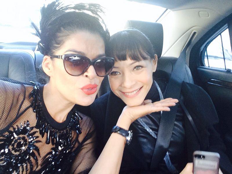 Minha amiga aqui em Paris Graziela Miranda