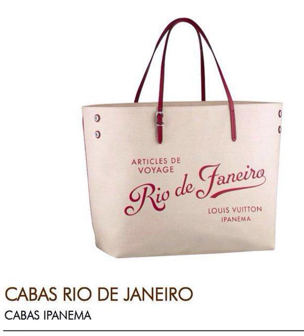 A bolsa Louis Vuitton comemorativa dos 25 anos da marca no Rio de Janeiro