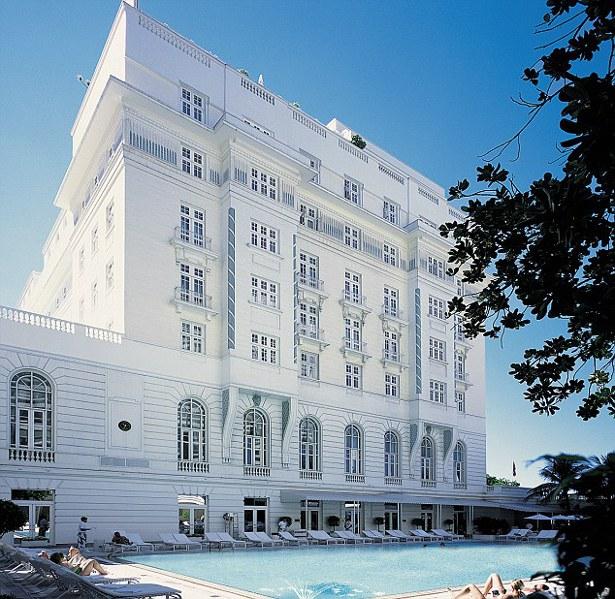 O impecável Hotel Copacabana Palace hoje na BBC2