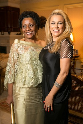 Ariadne Coelho e Luiz Saucha recebem para jantar em homenagem a Desembargadora Ivone Ferreira Caetano