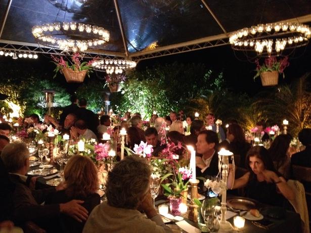 O espetacular jantar de Josa Nascimento Brito para Lucia Guanabara