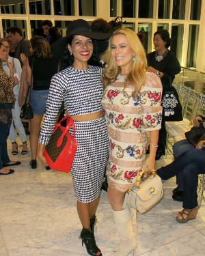 Ariadne Coelho e Elsaine Von Blankenhagen arrasam no Fashion Night´s Out do Village Mall
