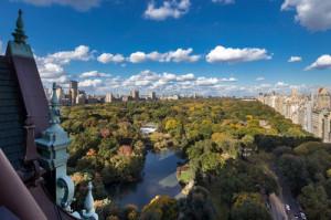 A vista para o Central Park da cobertura maravilhosa de Tommy Hilfinger