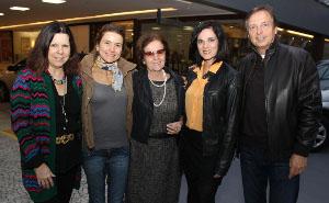 IMG_1806 - Vanda Klabin, Flavia Marcolini, Dra. Rosa Celia, Gilda Antoniazzi e Chico Grabowsky