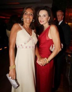 Lucia Guanabara e Patricia Mayer duas divas