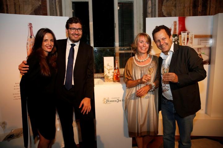 Vik Muniz e o champangne Perrier Jouët fazem jantar chique no Parque Lage para lançamento de garrafa assinada pelo artista