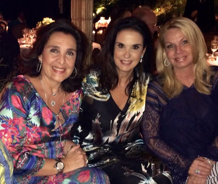 Christiana Malta, Georgiana Vasconcelos e Bethy de Luca