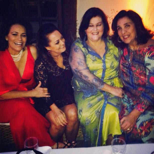 Patricia Vieira, Monica MacDowell, Heloisa Farme de Amoedo e Christiana Malta
