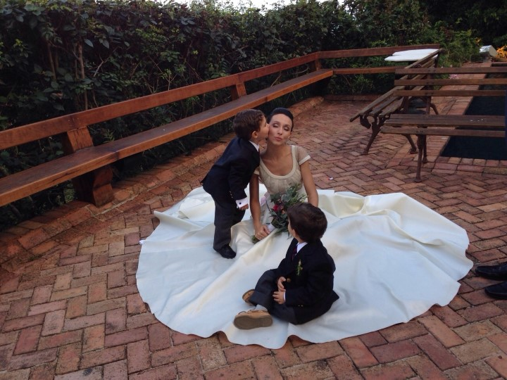 A noiva e seus pajéns