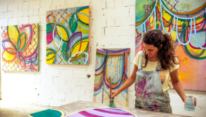 Atelier com obras d expo, Foto-BenjaminMorin