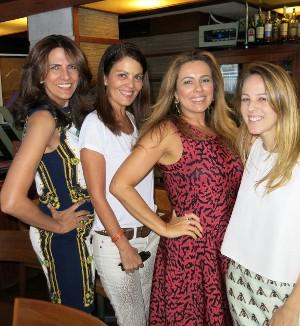 Esplanada Grill ferve com almoço das darlings do blog Zé Ronaldo.com
