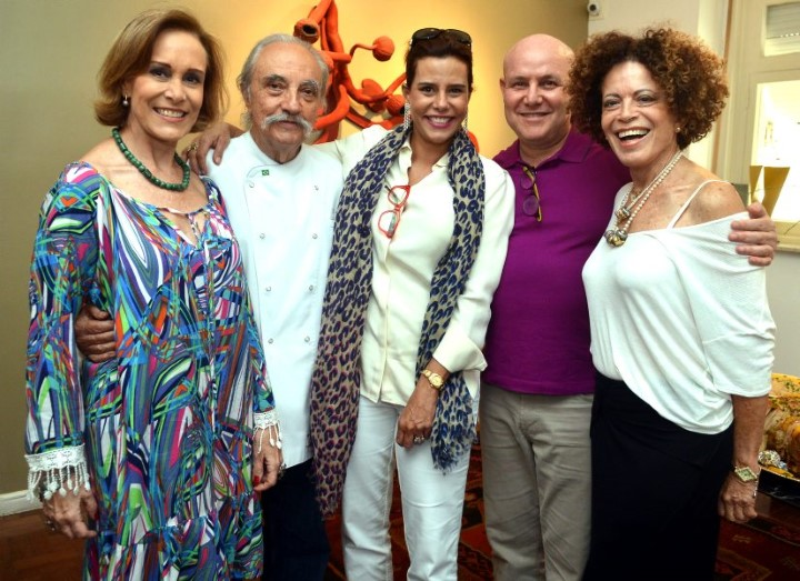 Adriana Fernandes, Zé Hugo Celidônio, Narciza Tamborindeguy, Paulo Müller e Maria Alice Celidônio