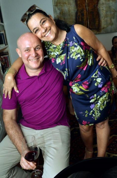 Paulo Muller e Raquel Resende