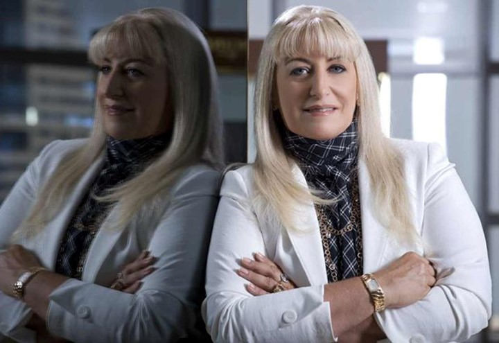 Nayla hayek a CEO da harry Winston agora parceira da anFar