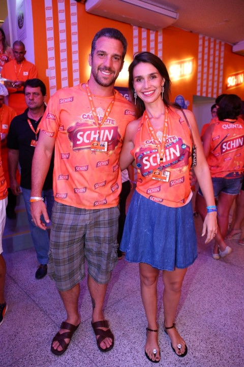 Carlos Bonow e esposa