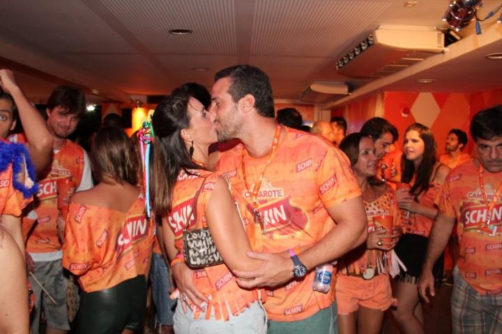 Carlos Banow e namorada