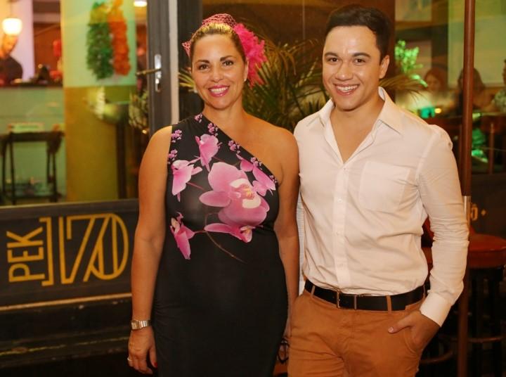 Katty Duarte Luna e Vinicius Belo
