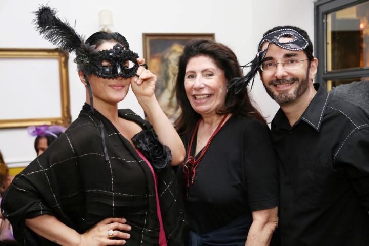 Paula Klien, Ana Maria Tornaghi e Alexandre Murucci
