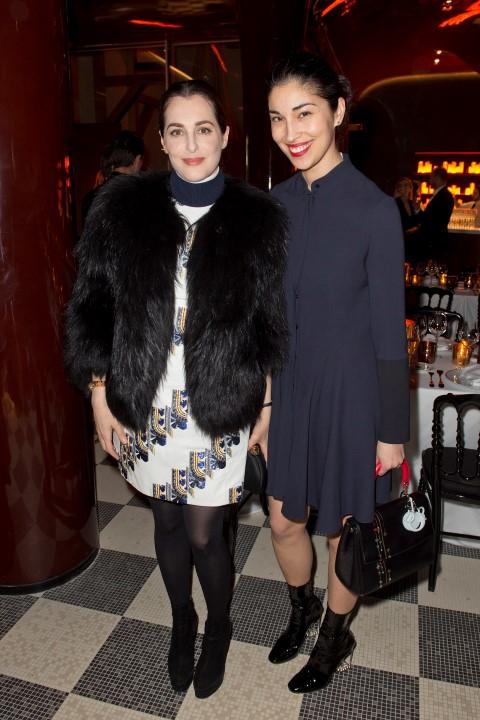 Amira Casar e Caroline Issa
