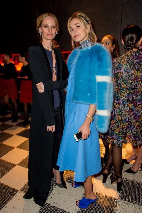 Lauren Santo Domingo e Elisabeth von Turn und Taxis.