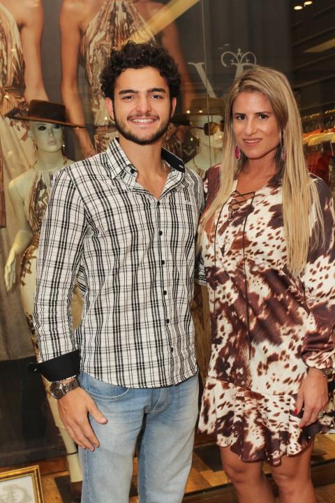 Mateus Machado e Ana Paula Barbosa