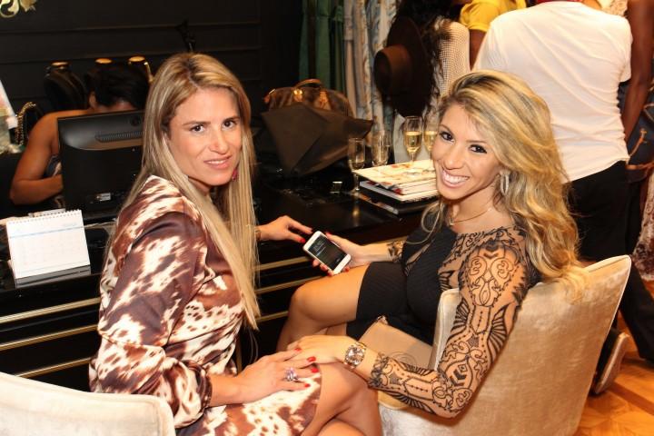 Ana Paula Barbosa e Andrea Andrade