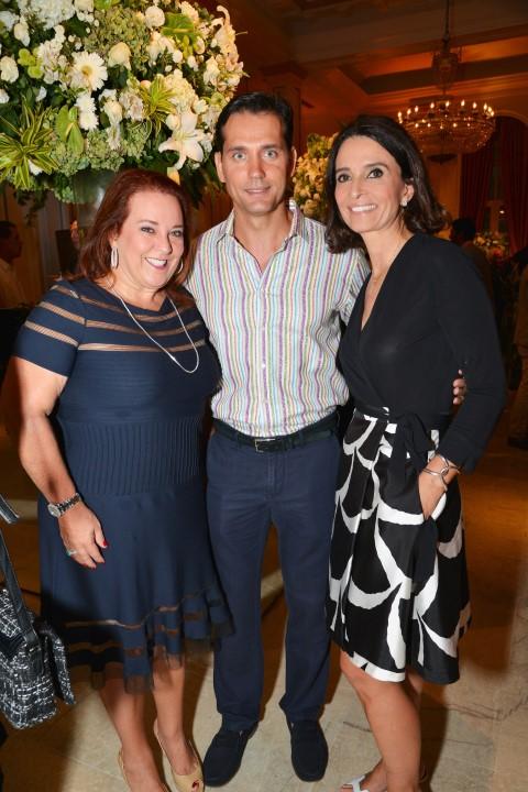 Priscila Levinson, Emerson Marieto e Andrea Natal