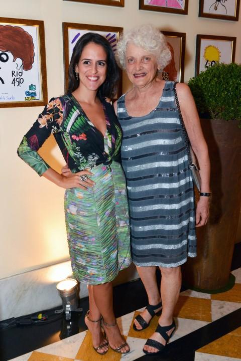 Paula Bezerra de Mello e Leona Forman