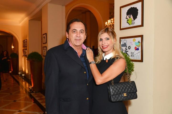 Ricardo Rique e Eliane Tabback