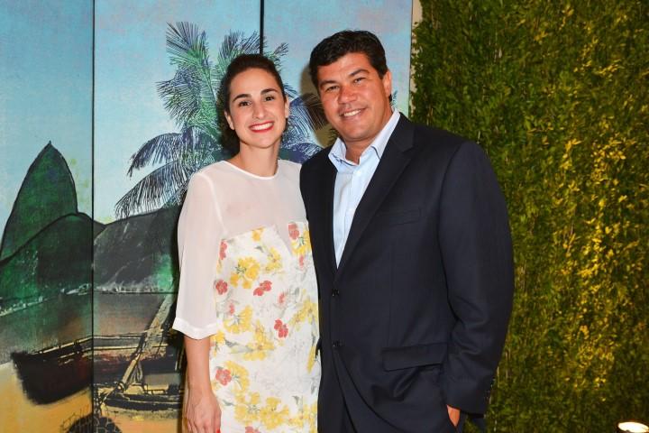 Paula Moura e Eduardo Bressani