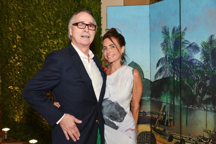 Carlos Moura e Celina Gentil