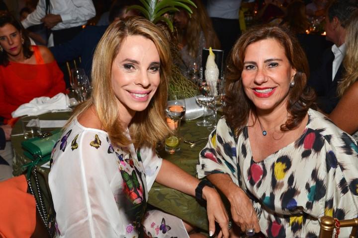 Monica Moreira e Alice Tamborindeguy