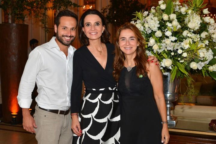-Marcelo Calero(Presidente Rio 450),Andrea Natal e Isabel Werneck