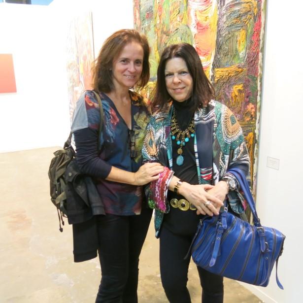 Patricia Quentel e Vanda Klabin girando pelo mundo cultural de São Paulo