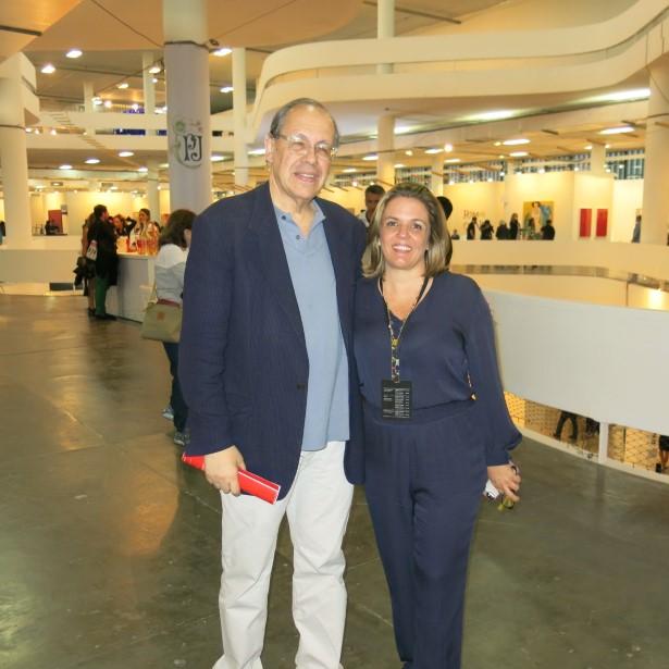 Paulo Herkenhoff e Luciana Caravello