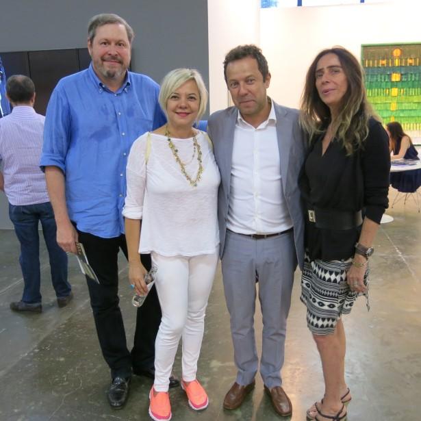 Pedro Correa do Lago, Francisca Barbosa, Vik Muniz e Eza Figueira de Mello