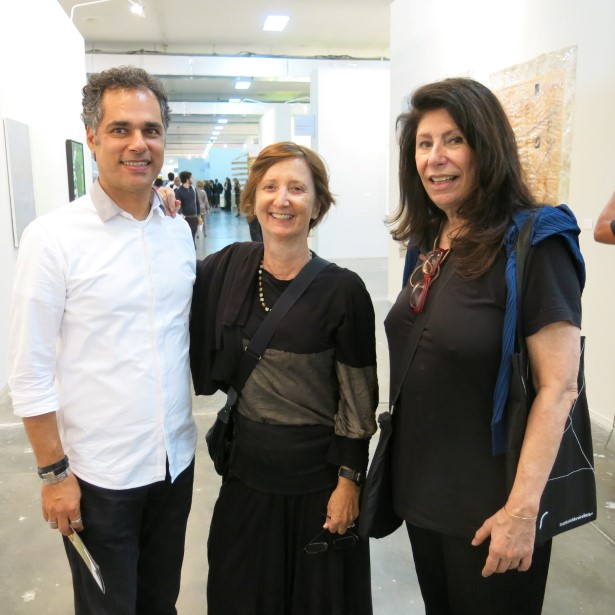 Franklin Pedroso, Elisa Gomes e Anna maria Thornaghi