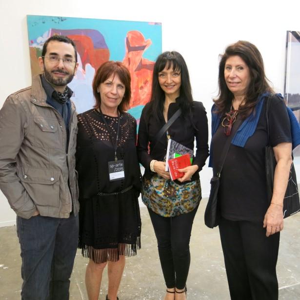 Alexandre Murucci, Anita Bernstein, a atriz portuguesa Maria Medeiros e Anna Maria Thornaghi
