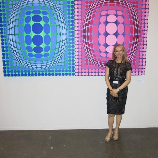 Eliane Benchimol e o seu Vasarelly