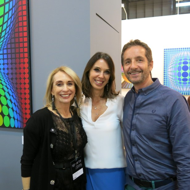 Eliana Benchimol, Esther Shattan e Pedro Guimarães
