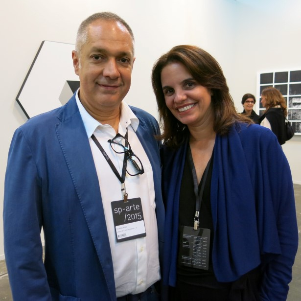 Ricardo Rego e Cristiane Julião que até o final do ano está abrindo sua sede da Lurixs Galeria na Dias Ferreira com projeto de Miguel Pinto Guimarães