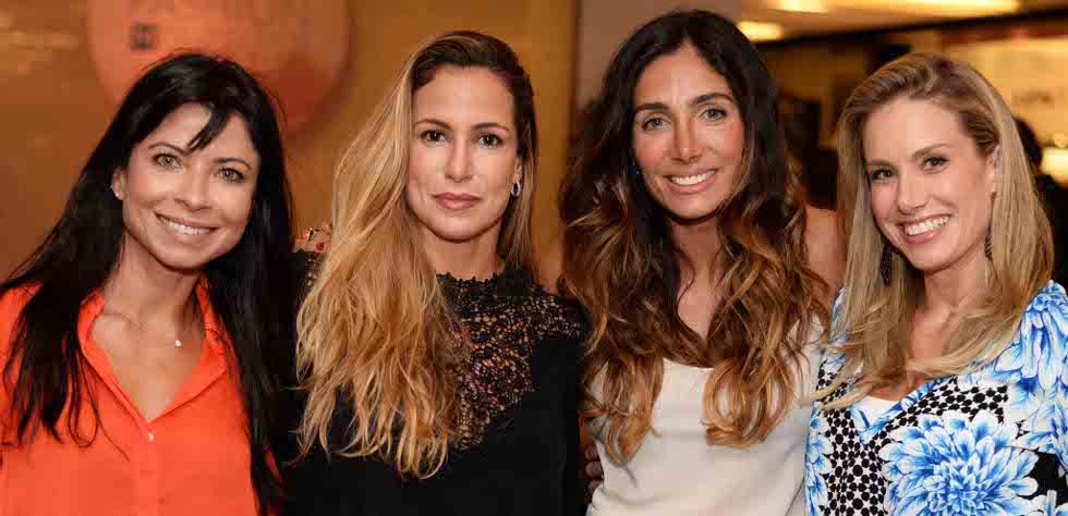 Ana Lima Fernanda Chquer Andrea Santa Rosa e Leticia Levy