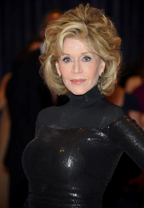 Jane Fonda no j101° jantar Anual dos Correpsondes Estrangeiros na Casa Branca