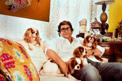 Antonio Neves da Rocha apresenta suas lindas cadelas Chevalier King Charles Spaniel clicadas pelo top fotógrafo Marcelo Tabach